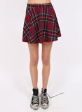 Plaid High Waisted Skater Skirt - BeHoneyBee.com - New & Vintage Pieces for your Home and Closet - BeHoneyBee.com - 2