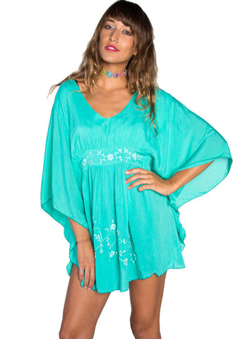 Teal Vava Dress - BeHoneyBee - BeHoneyBee.com - 1