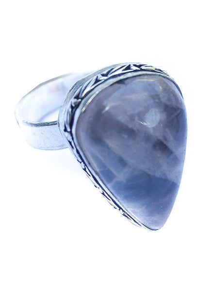Teardrop Stone Ring - BeHoneyBee.com - New & Vintage Pieces for your Home and Closet - BeHoneyBee.com - 1