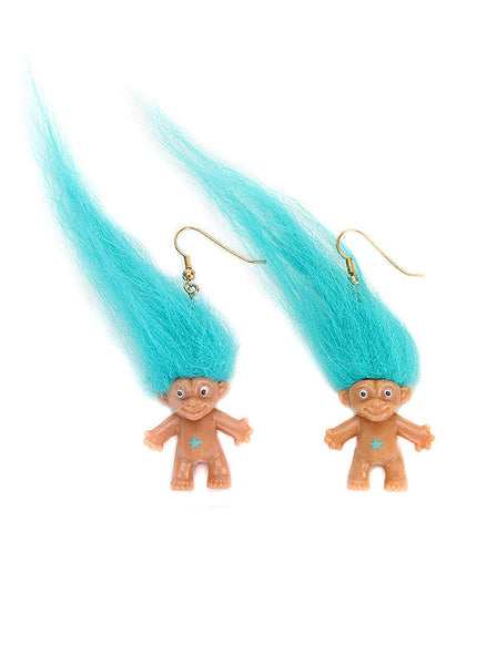 90s Troll Earrings - Me - BeHoneyBee.com - 1