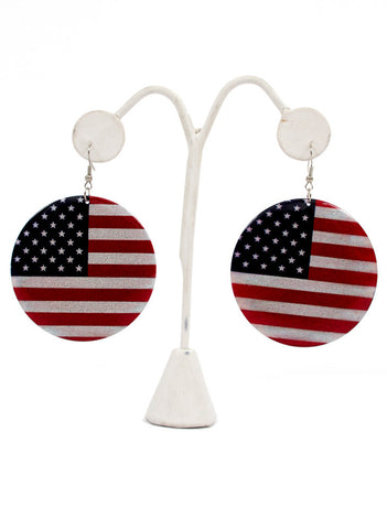 USA earrings - Me - BeHoneyBee.com