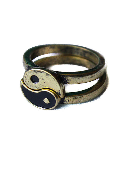 Yin Yang Friendship Ring - Me - BeHoneyBee.com - 1