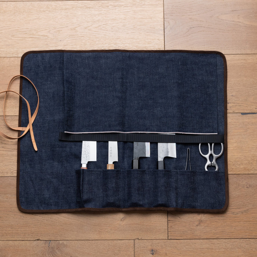 Denim Knife Bag by Japan West Tools