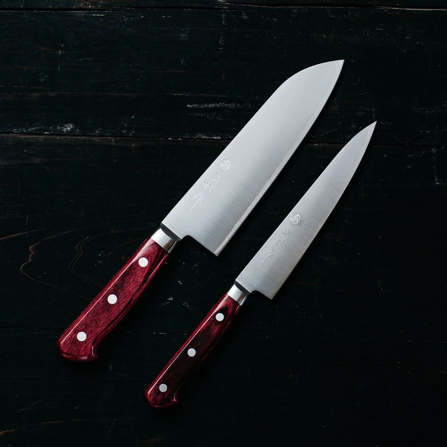 Takamura R2 Two Piece Set with Santoku