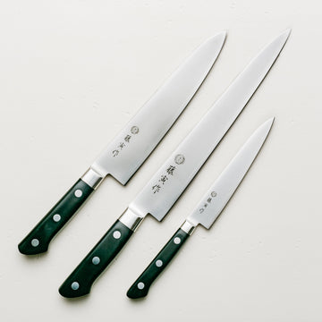 Tojiro DP Three Piece Set with Sujihiki