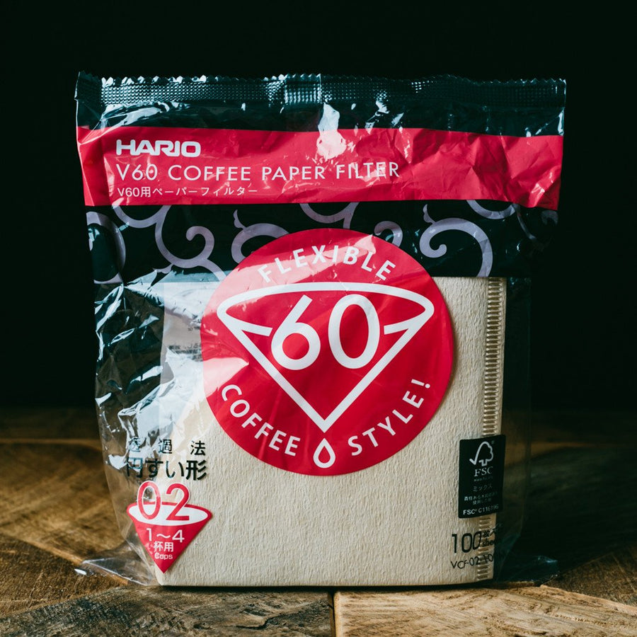 V60 02 Brown Paper Filter - 100ct