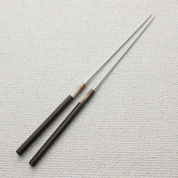 Plating Chopsticks (Moribashi) Ebony 180mm (7.1