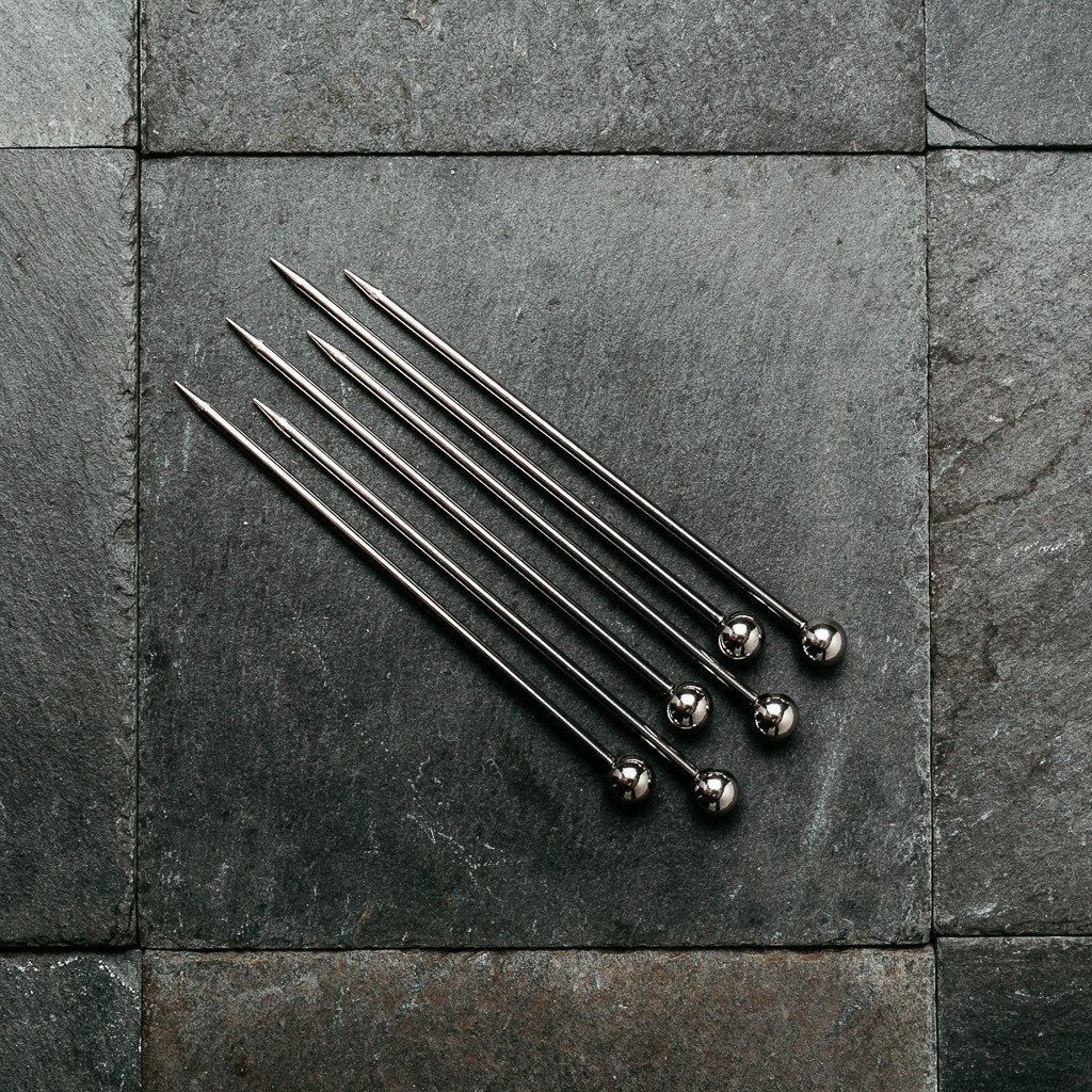Stainless Steel Cocktail Picks - 3.1""