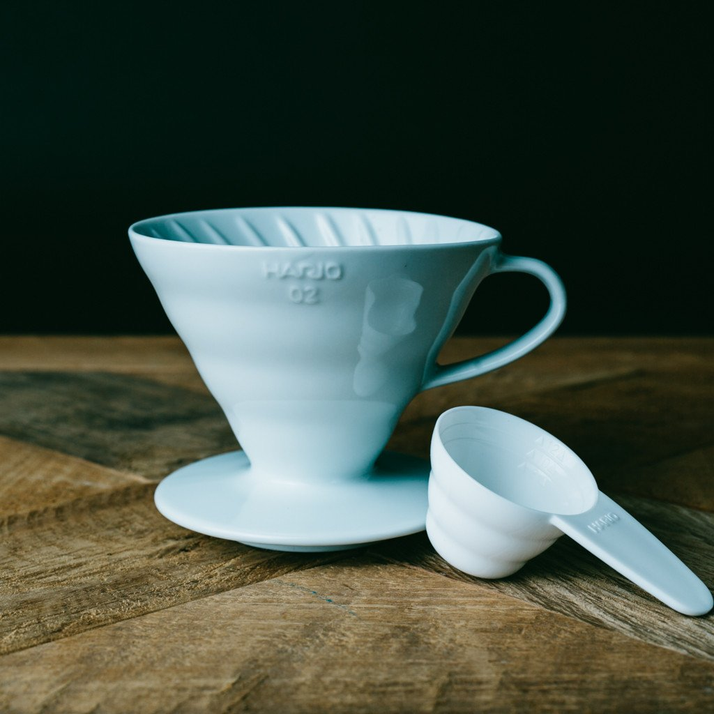 V60 Ceramic Dripper - White