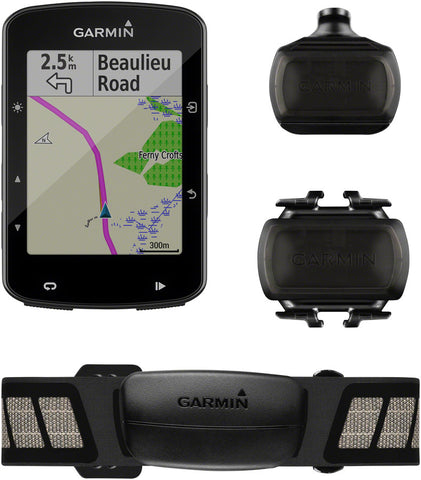 Garmin Edge 520 Plus Speed/Cadence Bundle Bike Computer - GPS, Wireless, Speed and Cadence