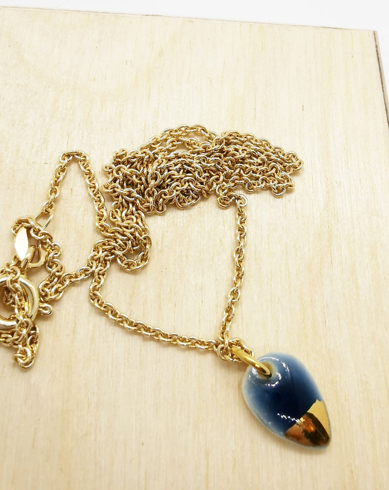 Storm drop necklace