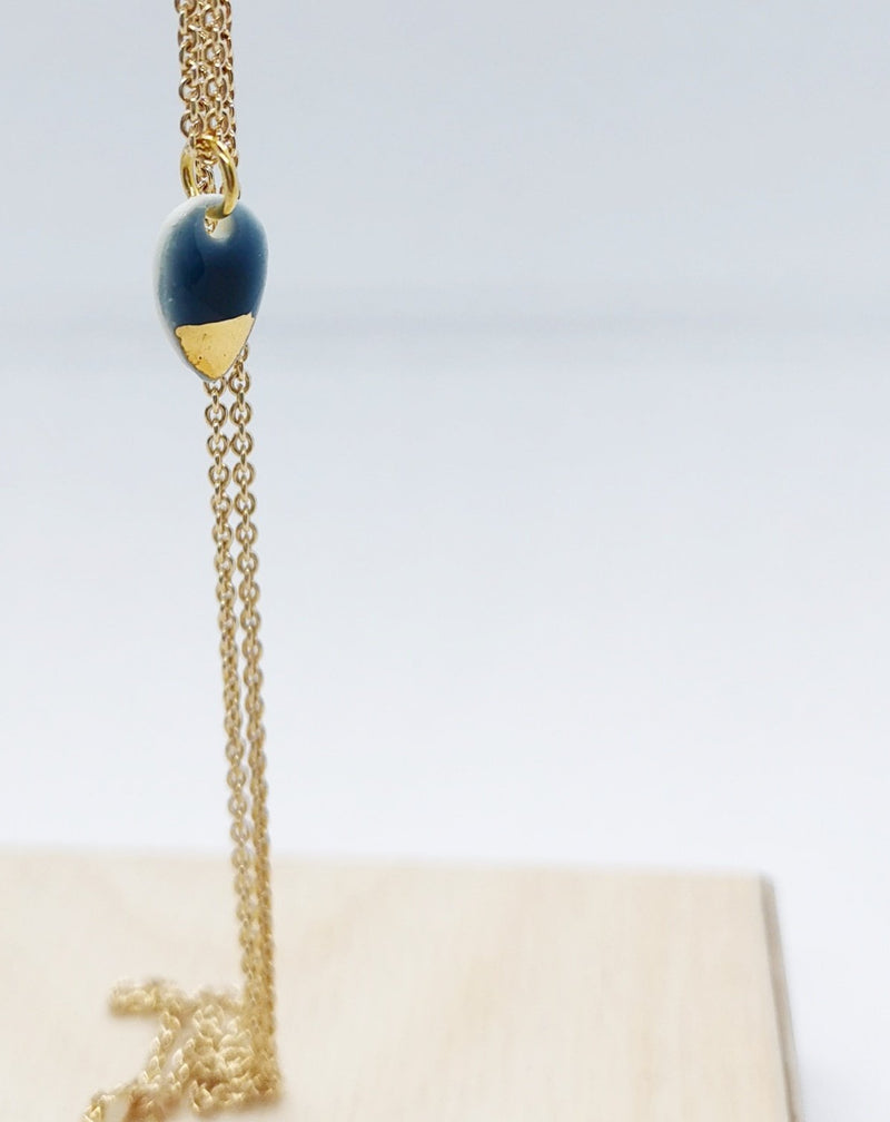 Storm drop necklace-Smykker-MEM design-noia.shop