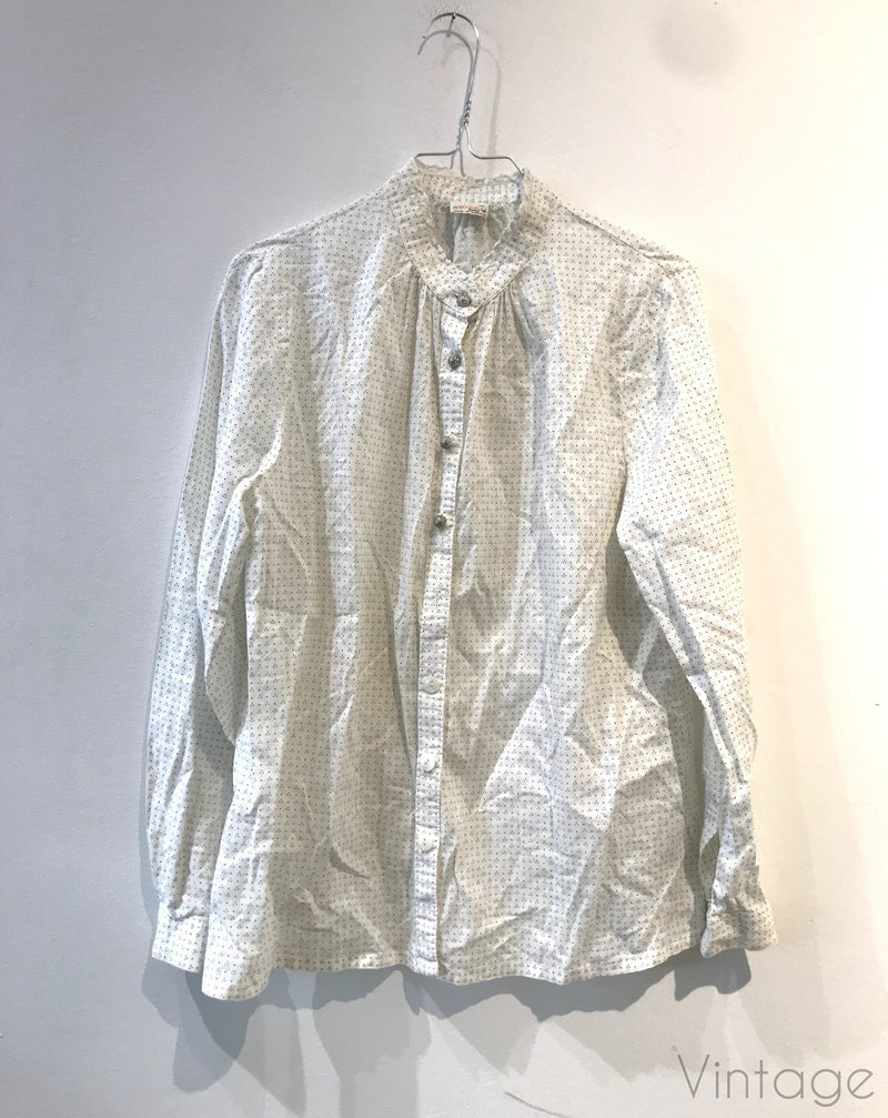 Bluse «Geiger», størrelse ca M/L-Bluser og topper-Second chance-M-Hvit-noia.shop