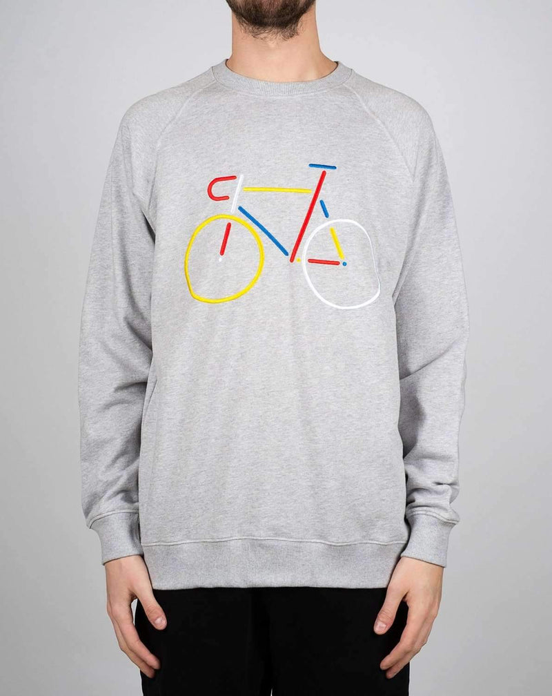 Color Bike collegegenser Hoodies og gensere Dedicated