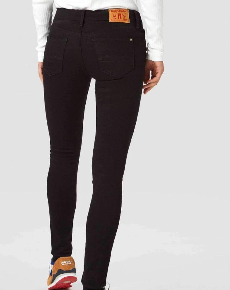 Juno Stay Black jeans - noia.shop