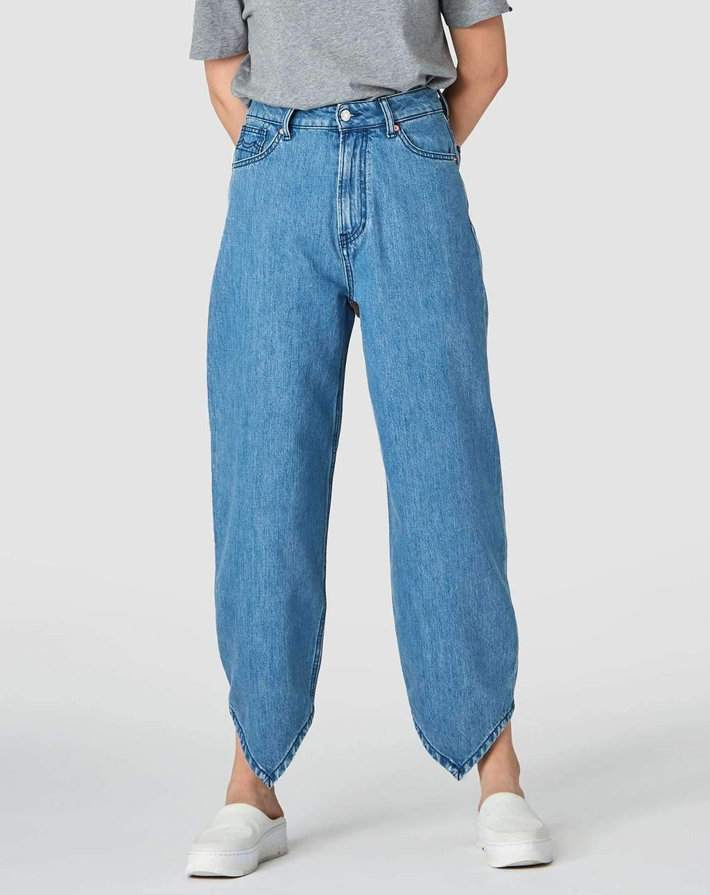 Leila Bottom Level jeans Bukser Kings of Indigo