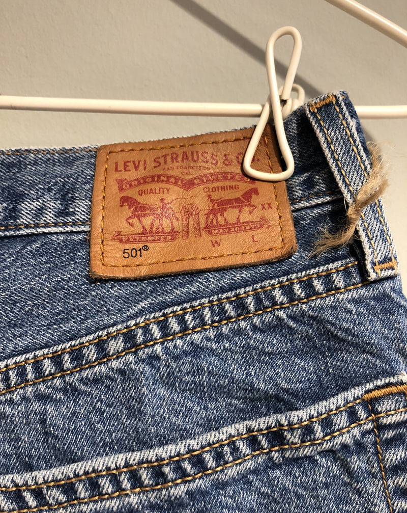 Levis 501 shorts, Small Second Chance Second chance
