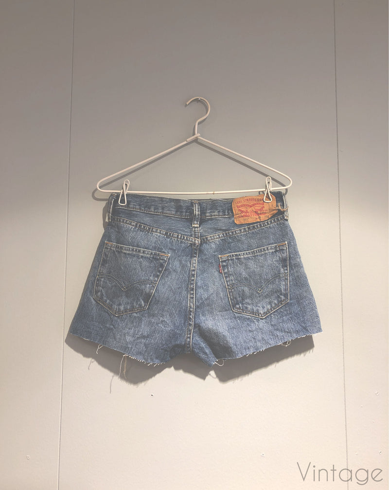 Levis 501 shorts, størrelse W30 L30 Second Chance Second chance