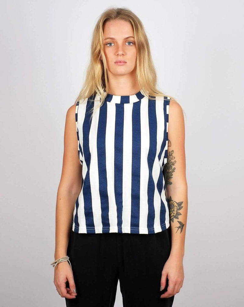 Namsos Big Stripes topp Topper og t-skjorter Dedicated