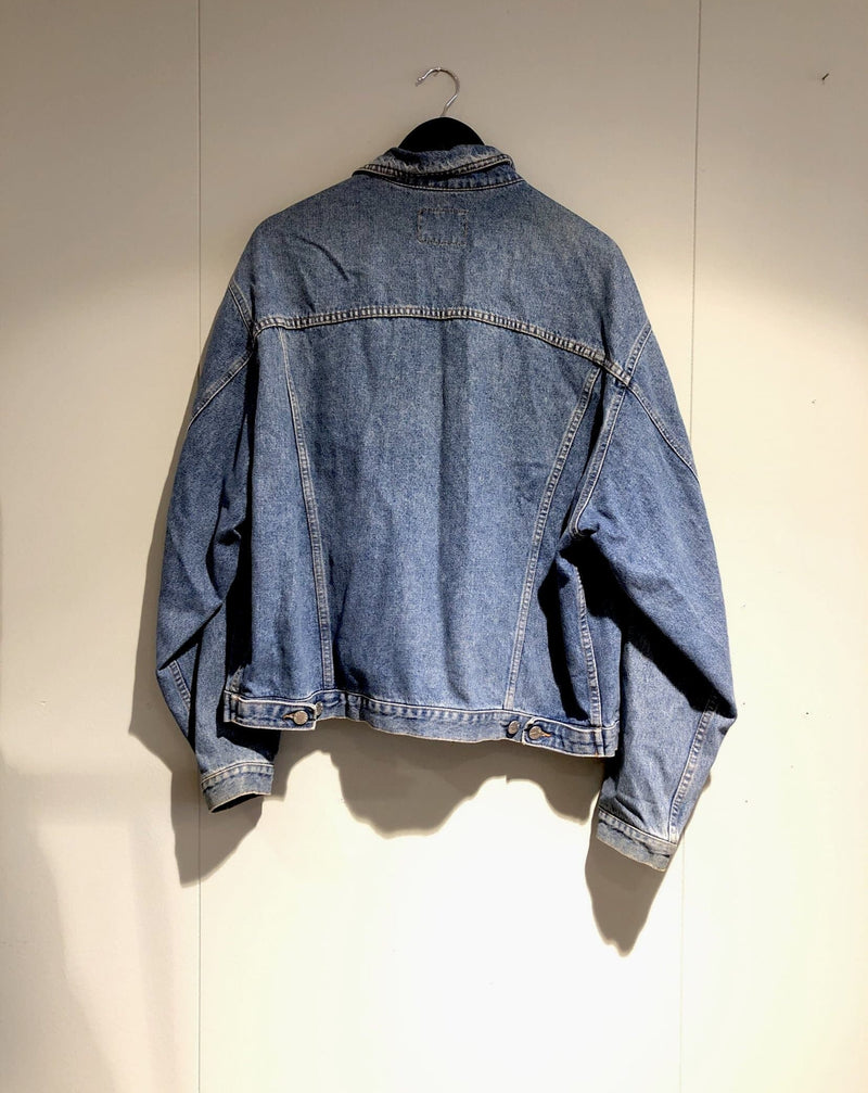 Type de denimjakke, størrelse M/L Denimjakke Second chance