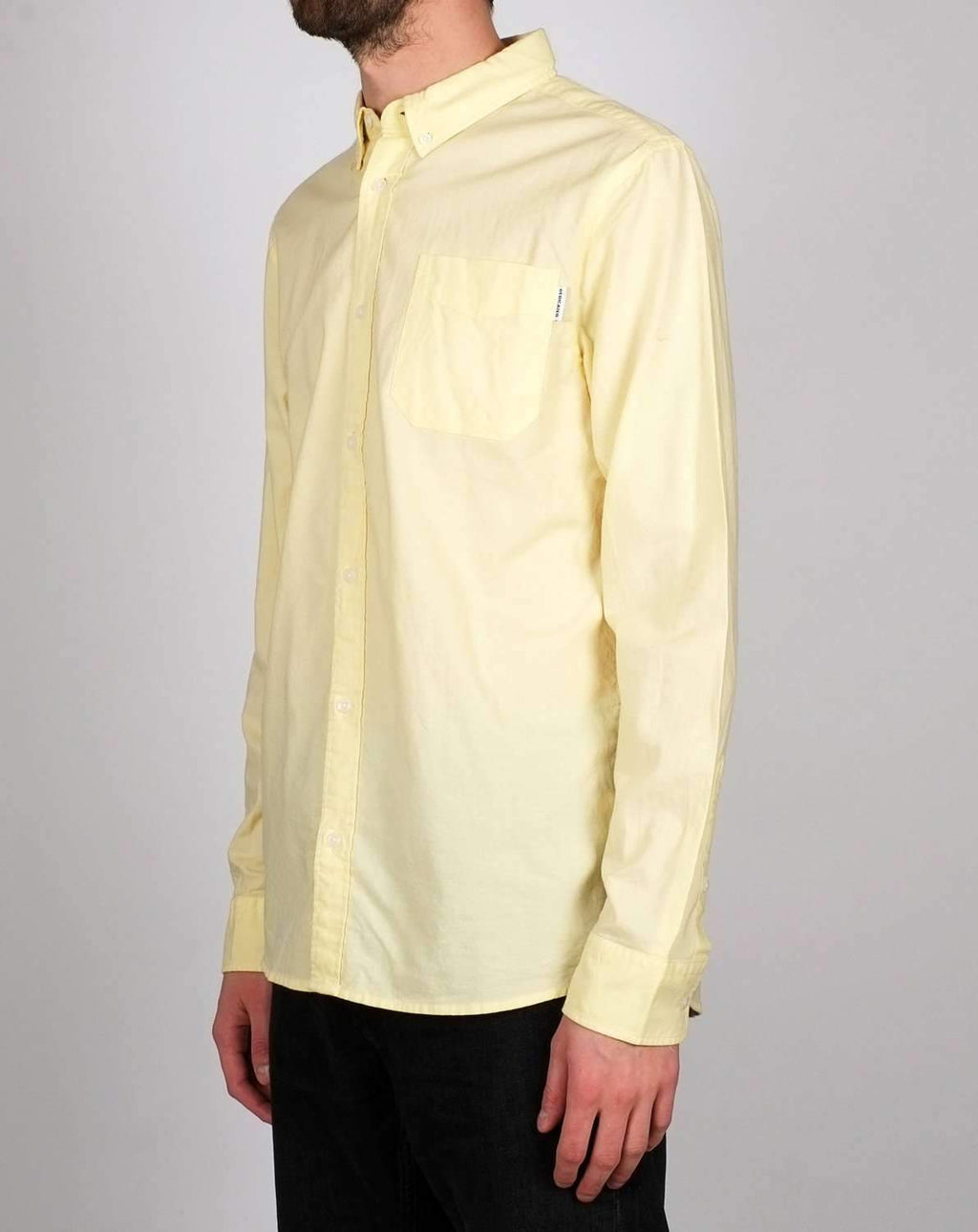 Varberg Pale yellow skjorte - noia.shop