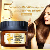 Magical  Hair Treatment Mask To Repairs Damage Hair