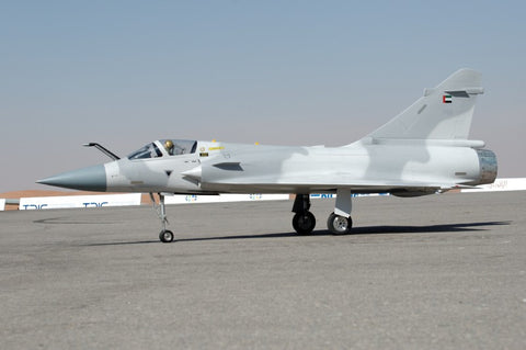 Mirage 2000 side view