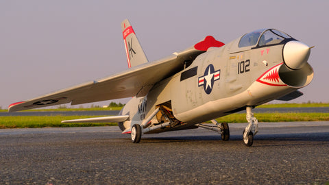 F-8E Crusader 1/7 scale