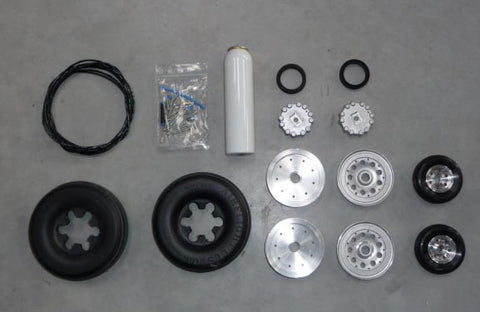 Rafale 1/5 scale wheels and brakes set