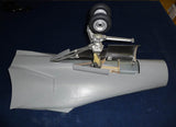 Marine nose gear and its specific nose section and gear doors.
