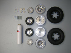 Mirage 2000 1/5 wheel set and brakes