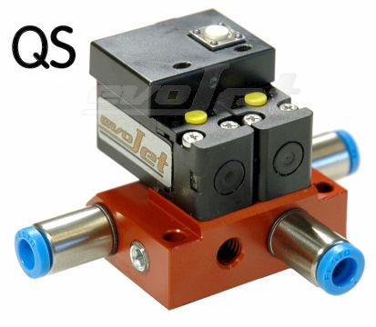 Orbit pneumatic dual action brake valve
