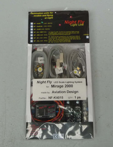 Rafale 1/5 LED Lights and Control Unit kit