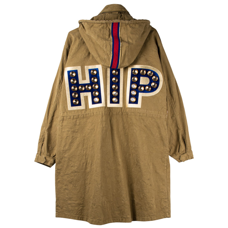 "Army Parka ""HIP"" - olive (back)"