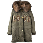 "Army Parka ""Tiger"" - olive (front)"