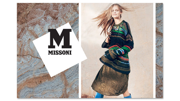 943136e61587e M Missoni is available at our Kew and Camberwell stores.