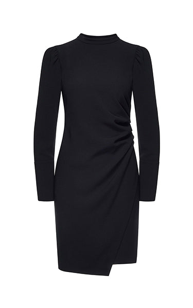 Beatrice B Black Fitted Dress