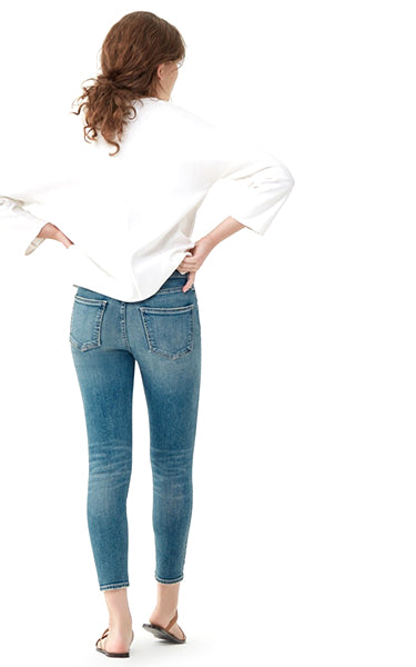 Citizens of Humanity Rocket Crop Jeans in Deja Vu