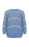 Coster Copenhagen Blue Stripe Knit