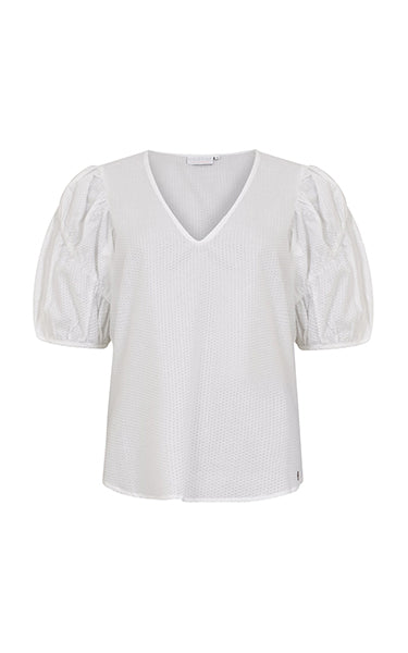 Coster Copenhagen White Bubble Top