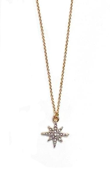Gold Sister Stargazer Necklace