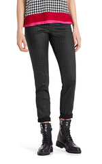 Marccain Jeans with Leather Finish Detailing