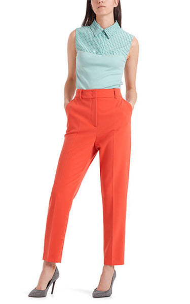 Marccain Stylish Stretch Pants in Fire