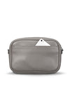 Status Anxiety Plunder Crossbody Bag in Light Grey