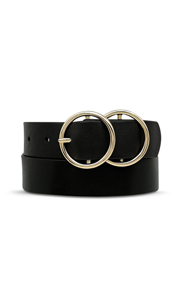 Status Anxiety Mislaid Belt Black & Gold