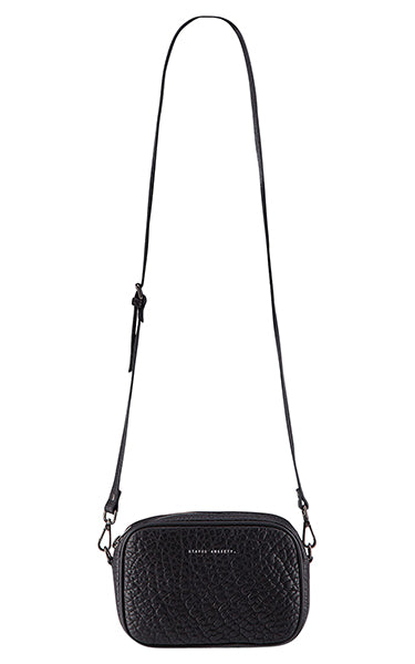 Status Anxiety Plunder Crossbody Bag in Black Bubble