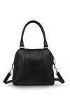 Status Anxiety Last Mountains Bag in Black Long Pony Hair