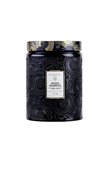 Voluspa Moso Bamboo Candle 100hr