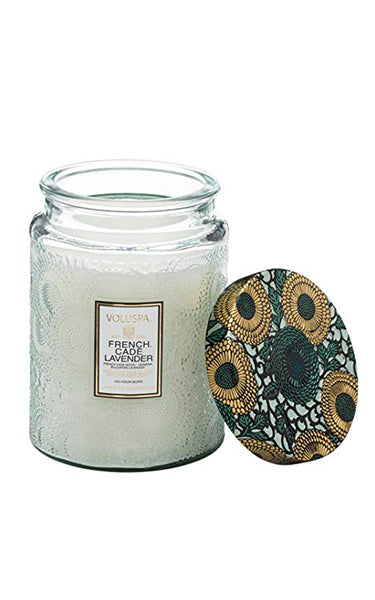 Voluspa French Cade & Lavender 100hr Candle