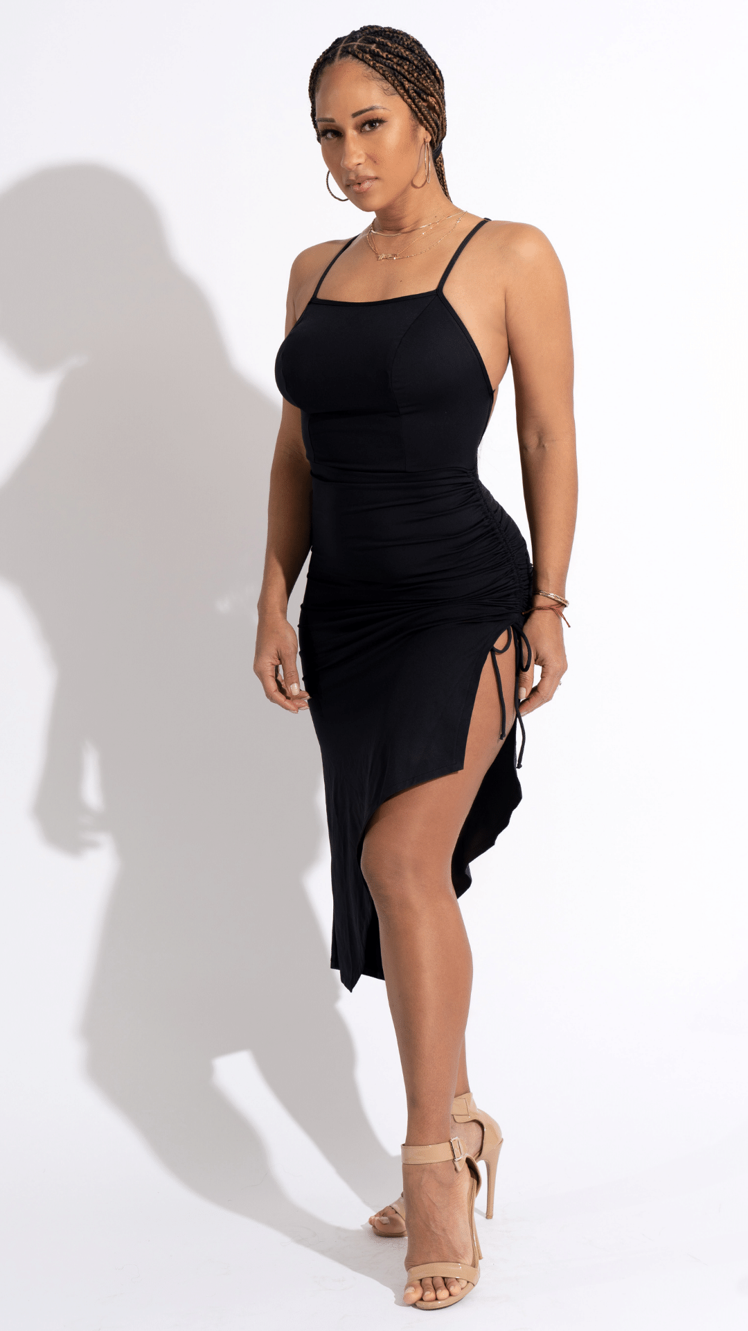 Total Black Dress - Desiree Godsell Collection